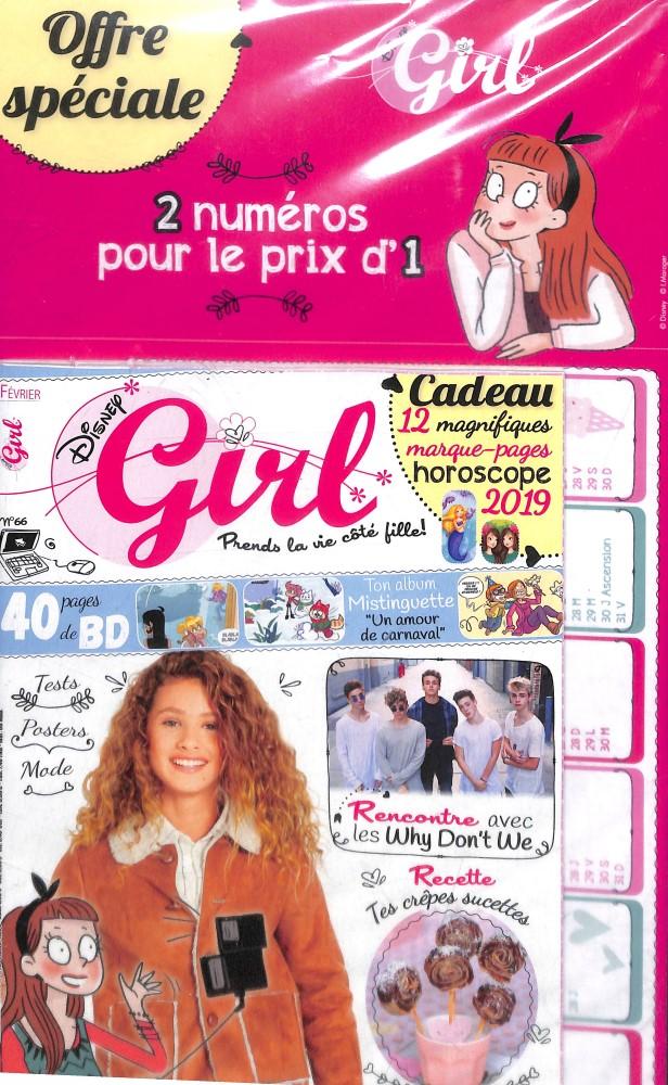 Disney Girl N° 67 Février 2019