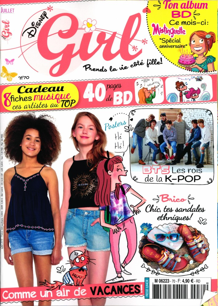 Disney Girl N° 70 Juin 2019