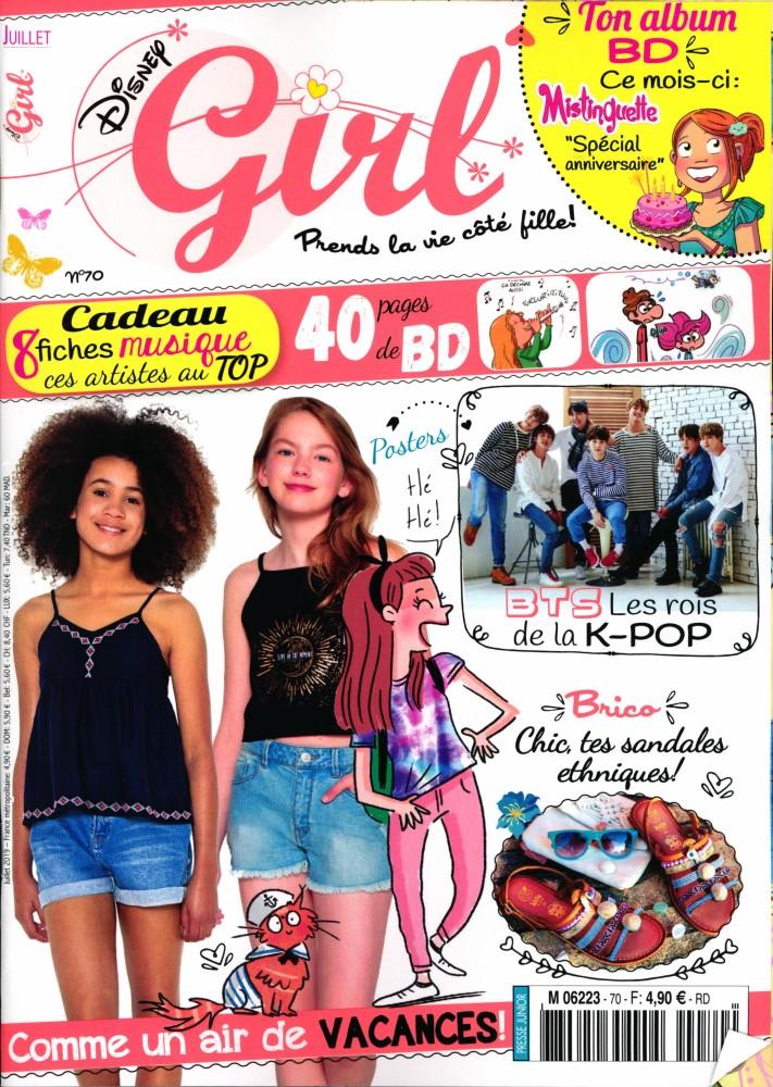 Disney Girl N° 72 Août 2019