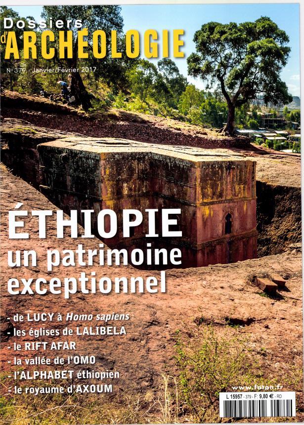 Dossiers d'Archéologie N° 379 Janvier 2017