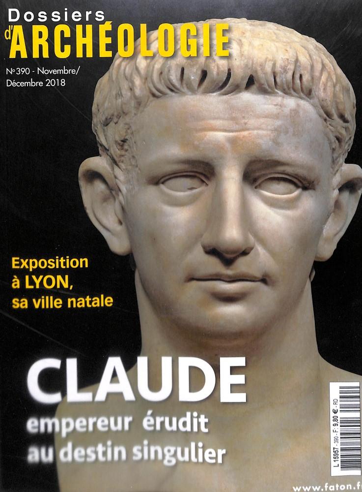 Dossiers d'Archéologie N° 390 November 2018
