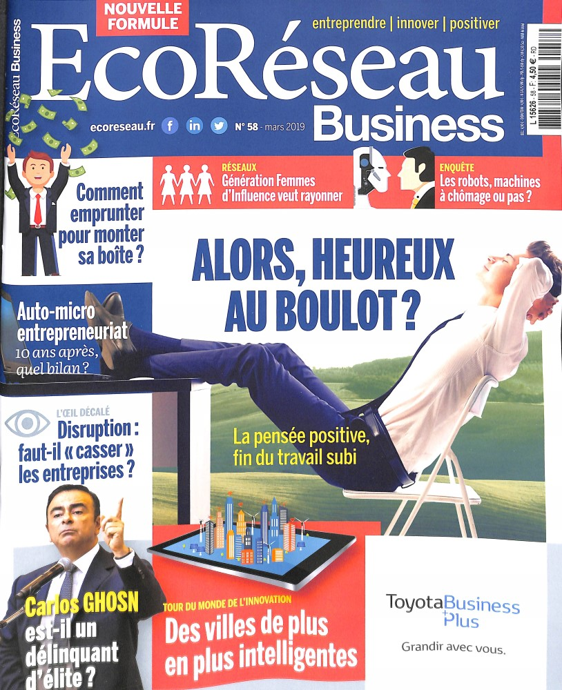 EcoRéseau Business N° 59 Avril 2019