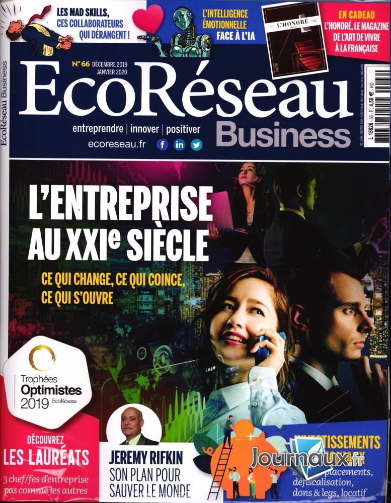 EcoRéseau Business N° 65 Novembre 2019