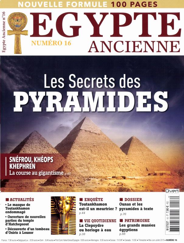 Egypte ancienne N° 34 Octobre 2019
