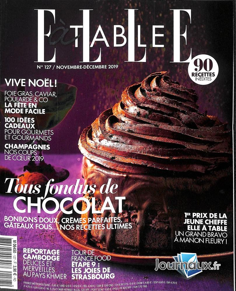 Elle à table N° 127 Novembre 2019