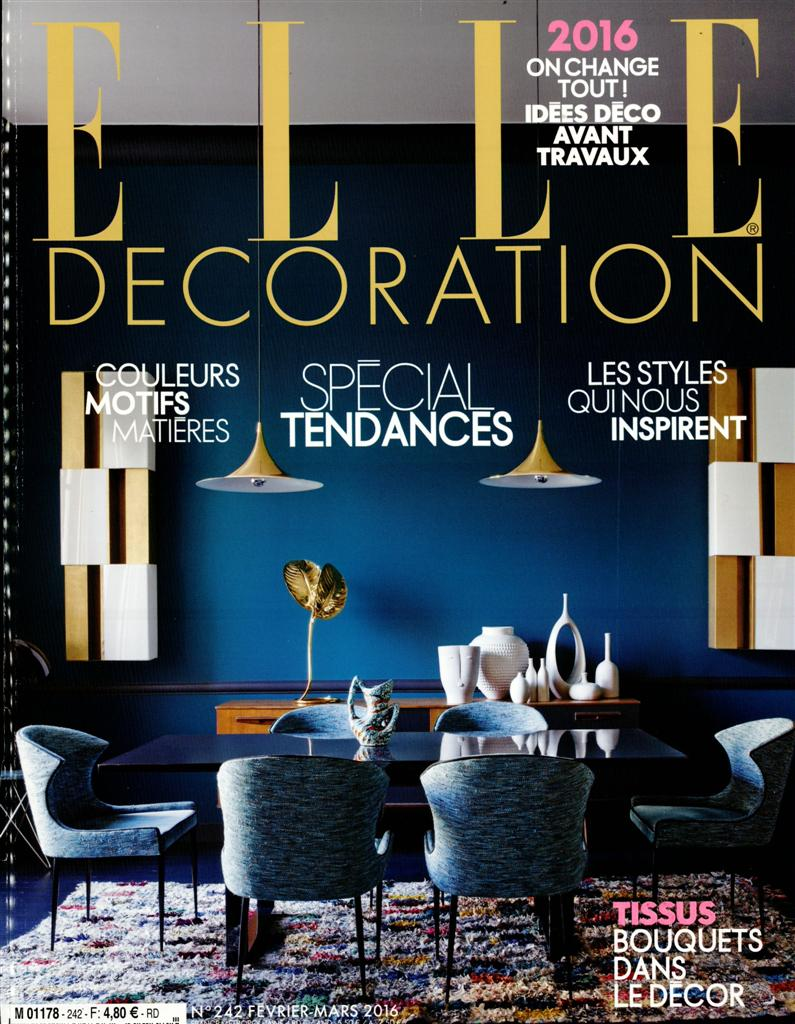 abonnement elle decoration magazine