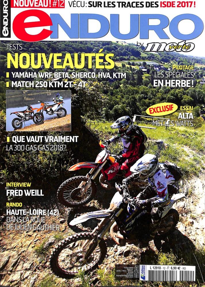 Enduro by Moto Verte N° 12 Juillet 2017