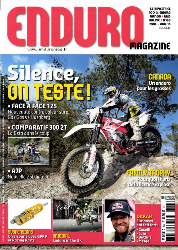 Enduro magazine N° 106 Décembre 2019
