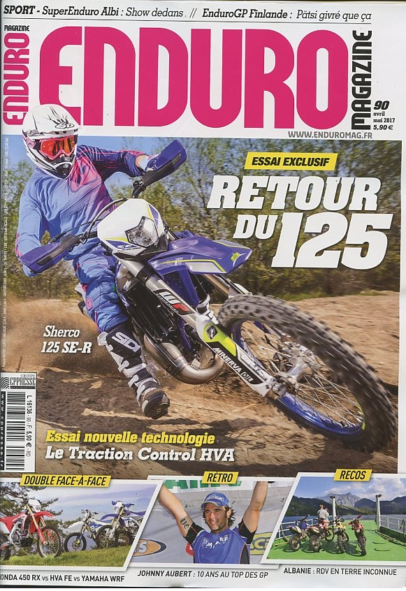 Enduro magazine N° 90 Avril 2017