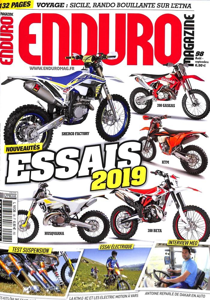 Enduro magazine N° 98 August 2018