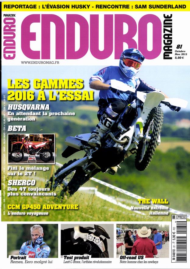 Enduro magazine N° 99 October 2018