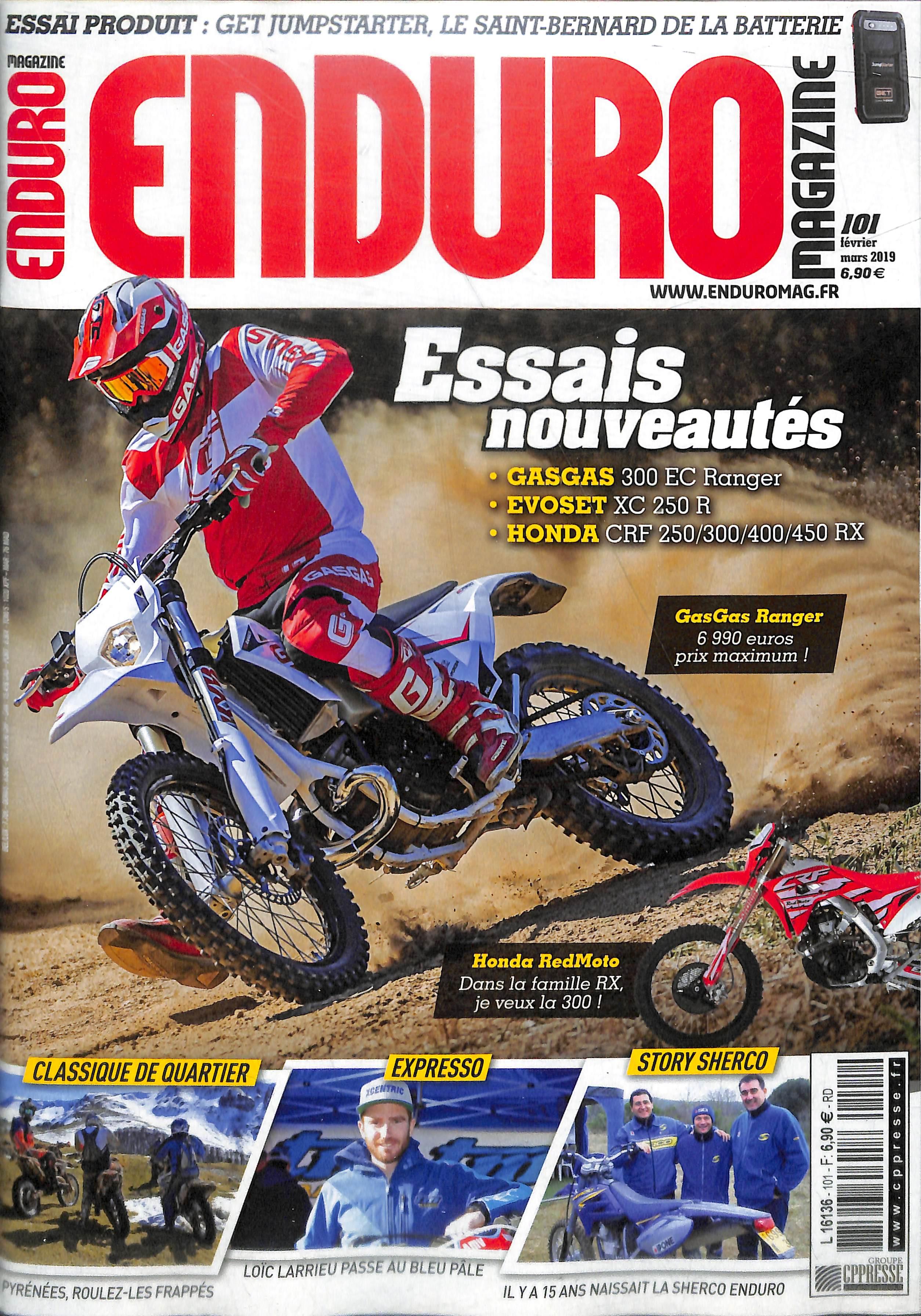 Enduro magazine N° 101 Février 2019
