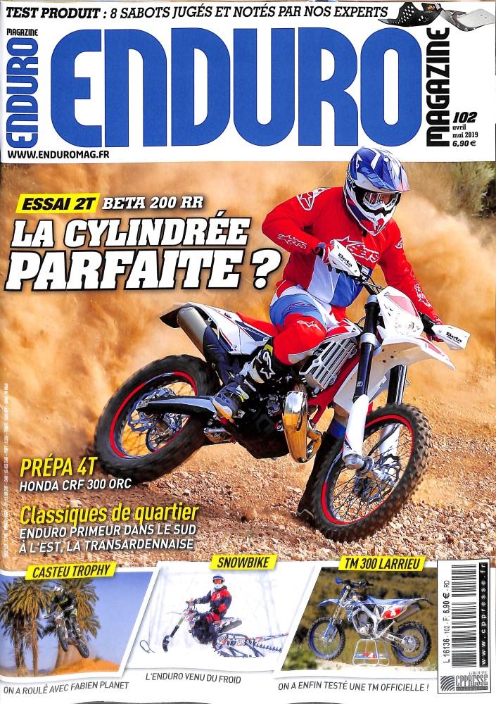 Enduro magazine N° 102 Avril 2019