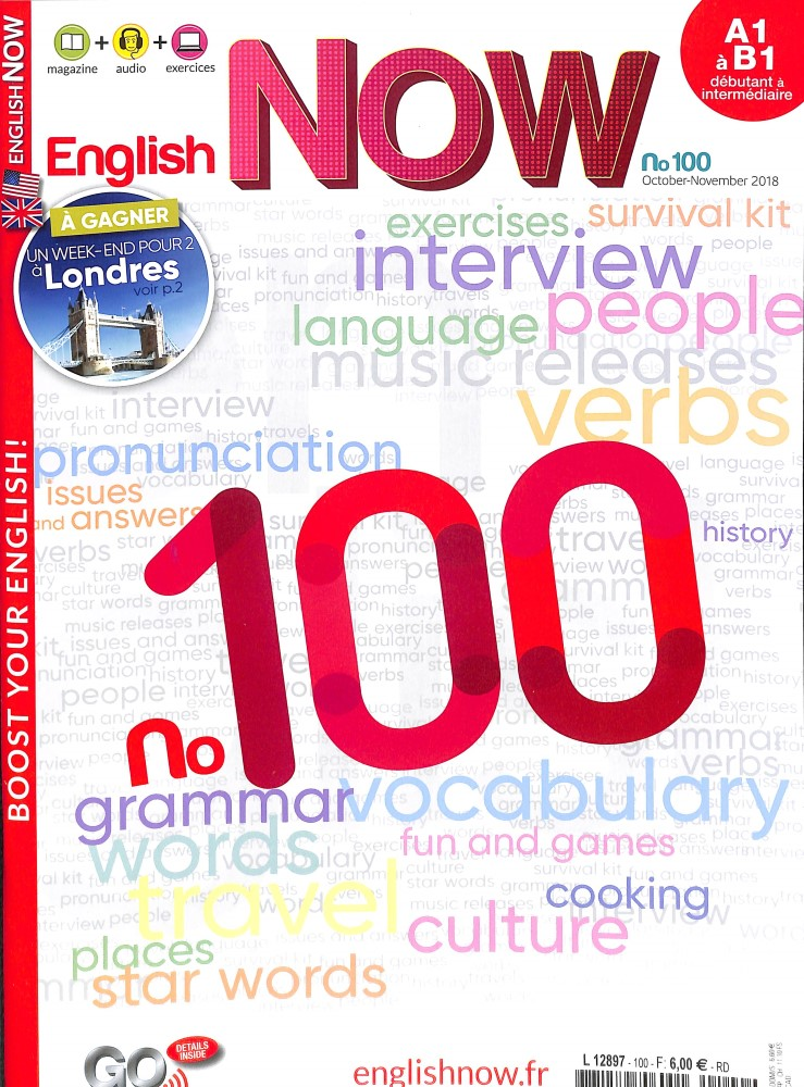 English Now N° 100 September 2018
