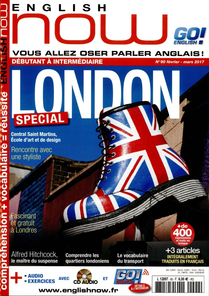 English Now N° 90 Janvier 2017