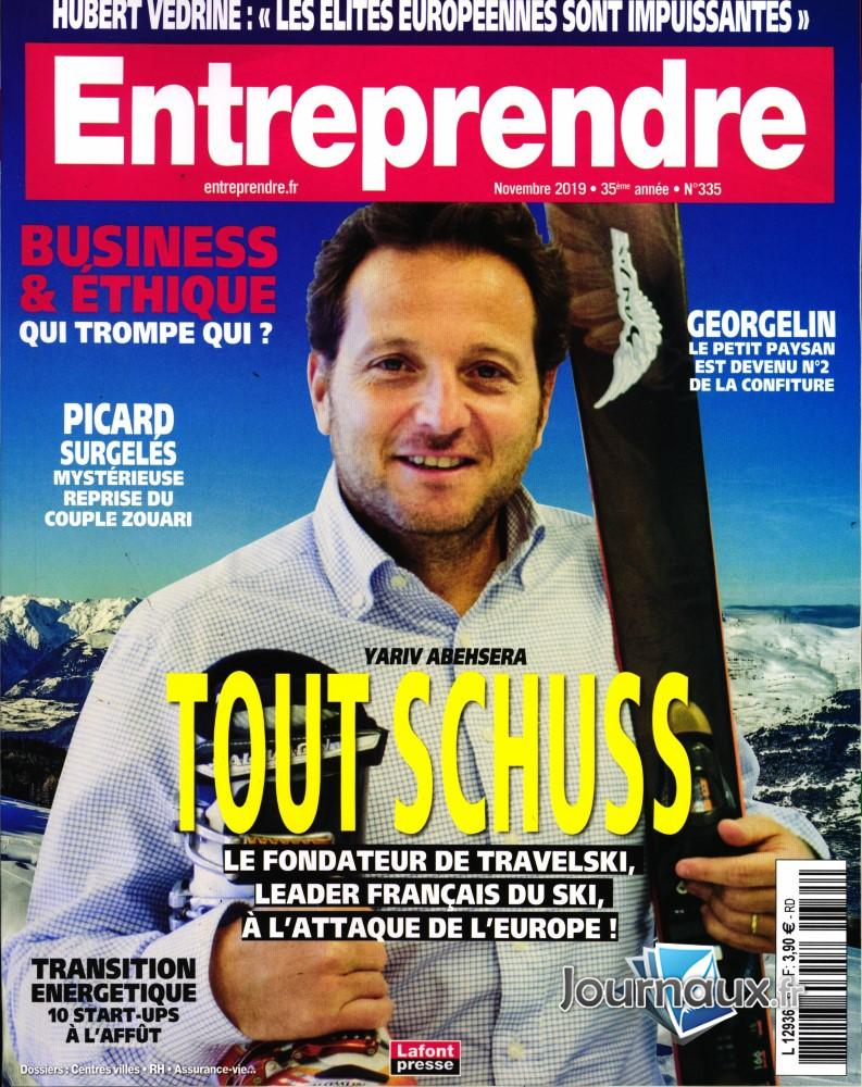 Entreprendre N° 335 Novembre 2019