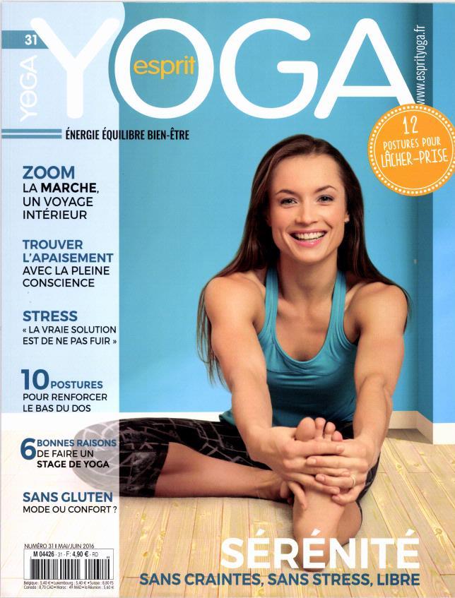 Esprit yoga N° 31 Avril 2016