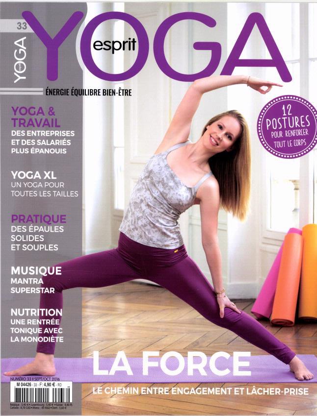 Esprit yoga N° 33 Août 2016