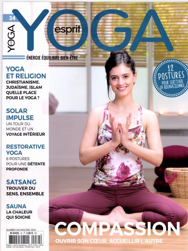 Esprit yoga N° 51 Août 2019