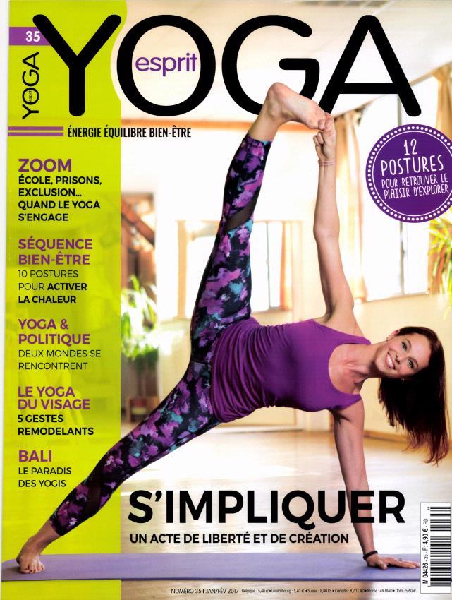Esprit yoga N° 35 Janvier 2017