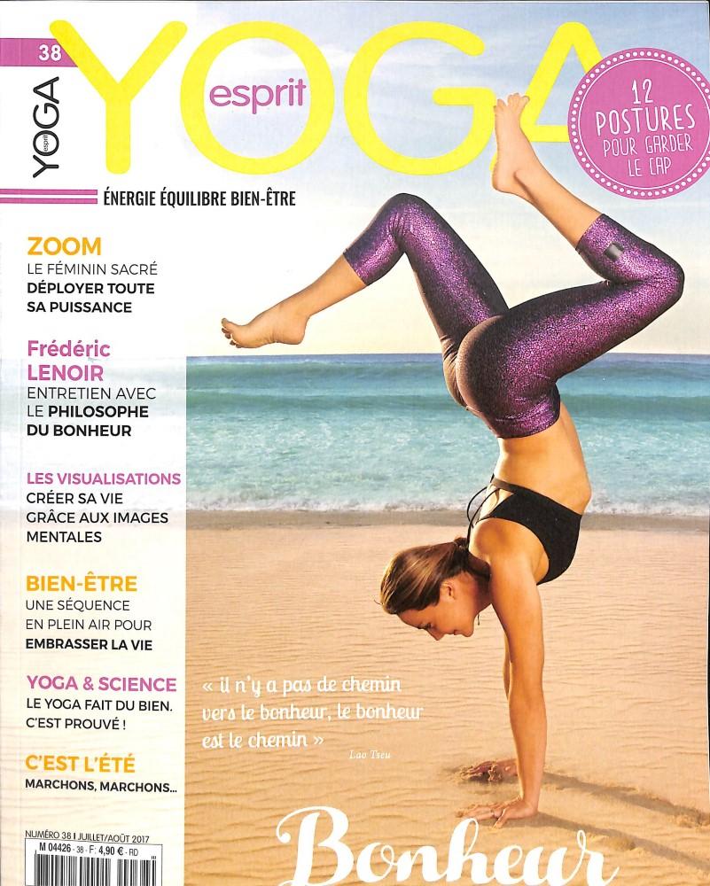 Esprit yoga N° 38 Juin 2017