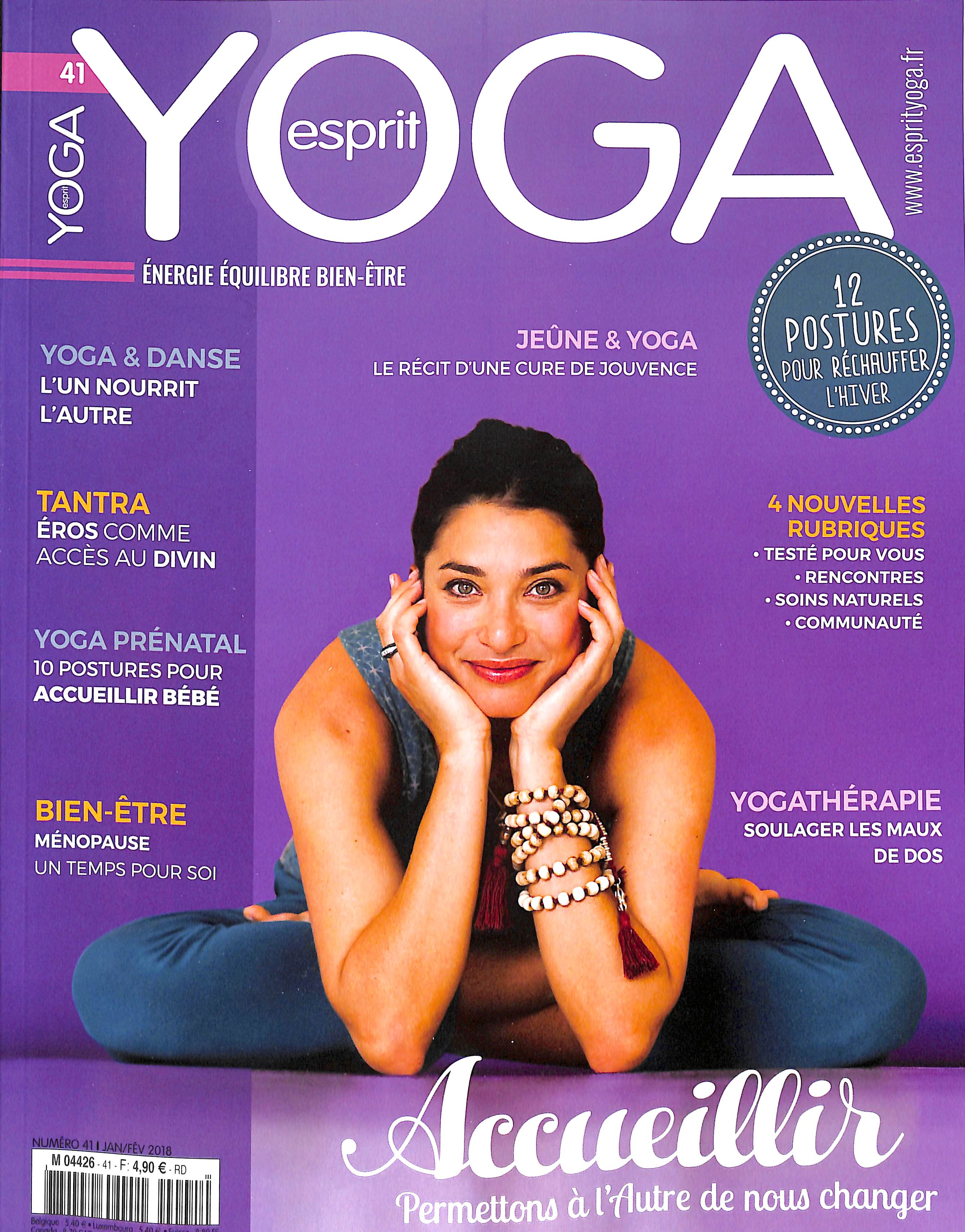 Esprit yoga N° 41 Janvier 2018