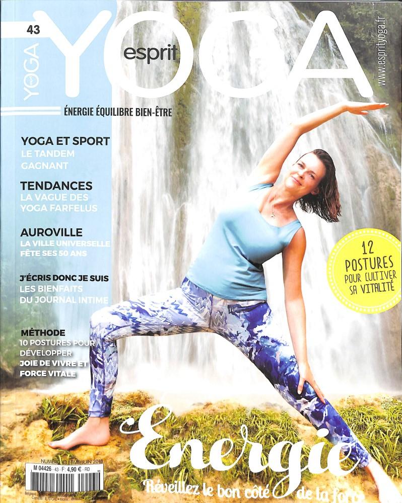 Esprit yoga N° 43 April 2018