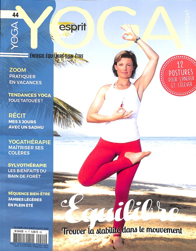 Esprit yoga N° 44 June 2018