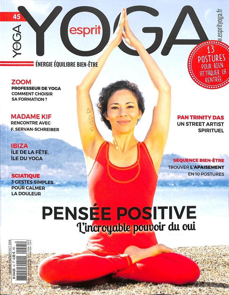 Esprit yoga N° 45 August 2018