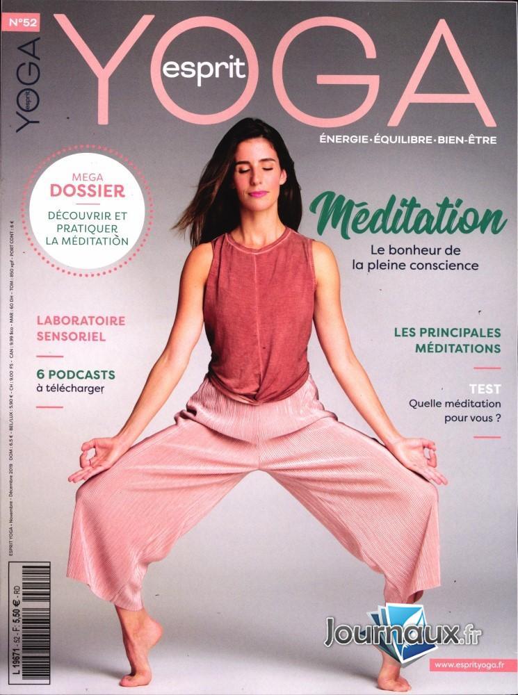 Esprit yoga N° 52 Octobre 2019