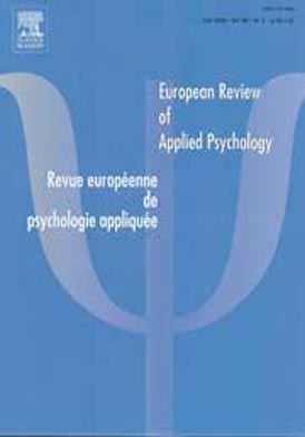 European review of applied psychology/Revue euro psychologie Février 2012