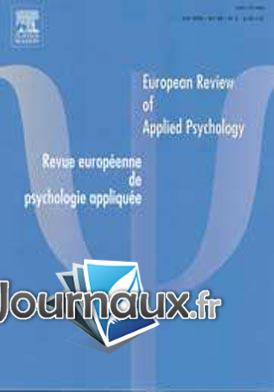 European review of applied psychology Février 2012