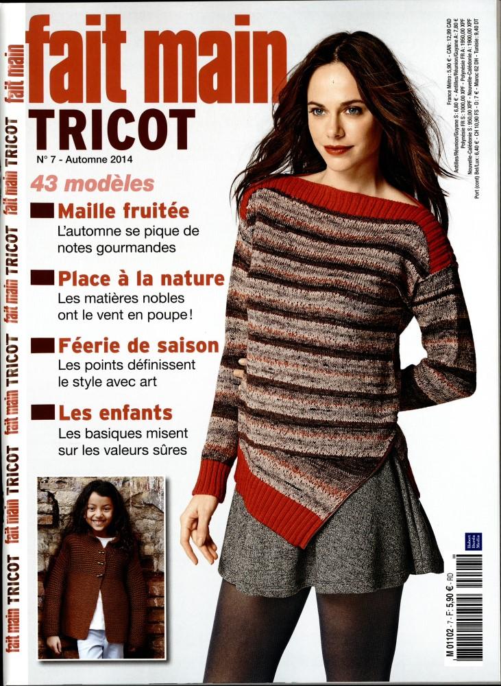 Fait main tricot N° 27 Août 2019