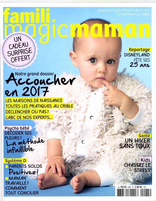 Magicmaman N° 245 Janvier 2017