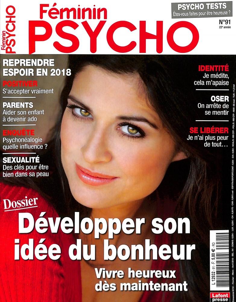 Féminin Psycho N° 91 January 2018