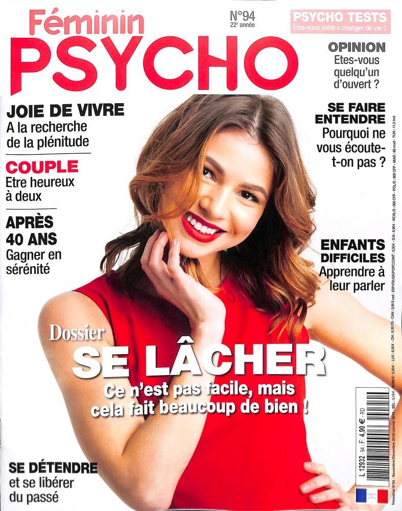 Féminin Psycho N° 94 October 2018