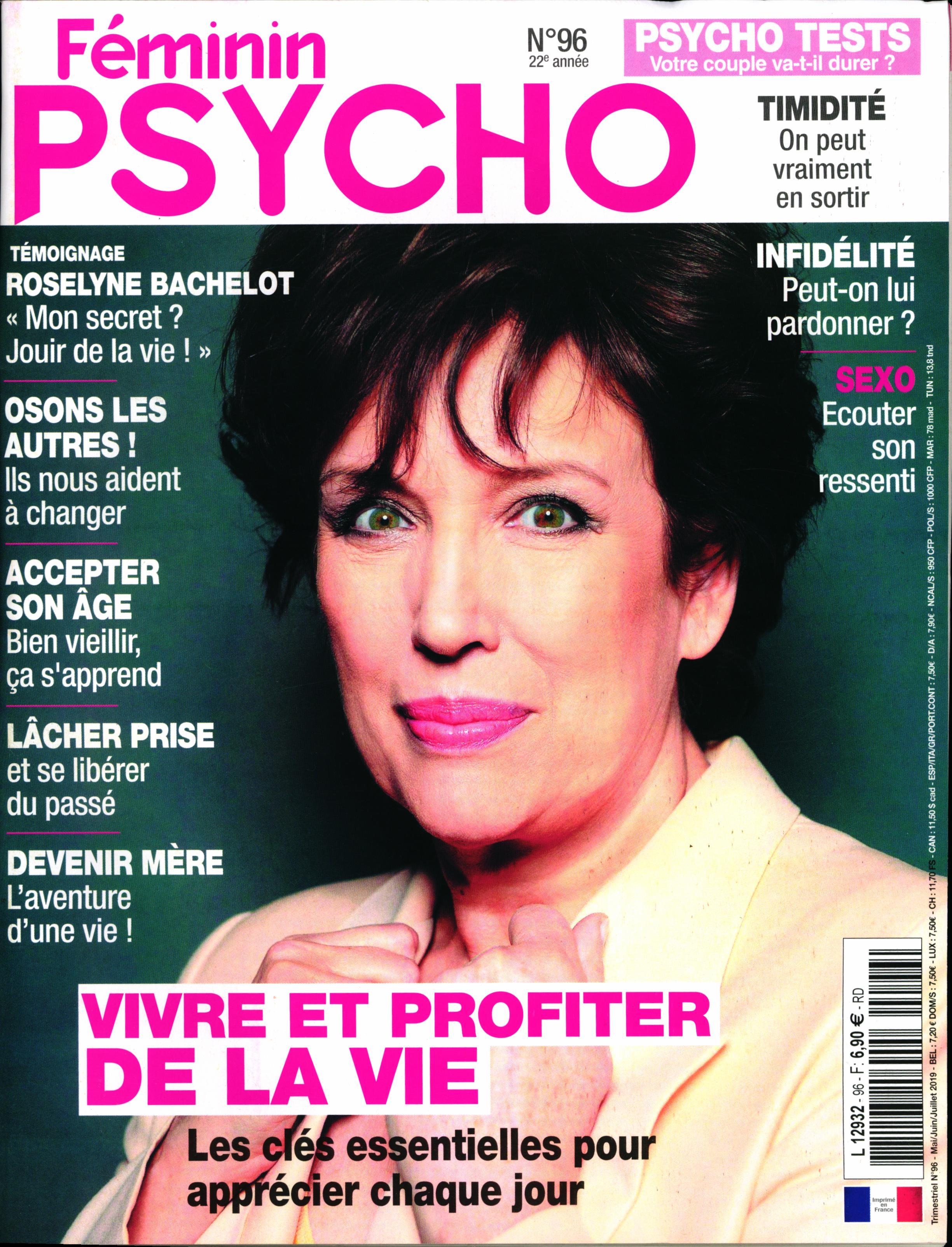 Féminin Psycho N° 96 Avril 2019