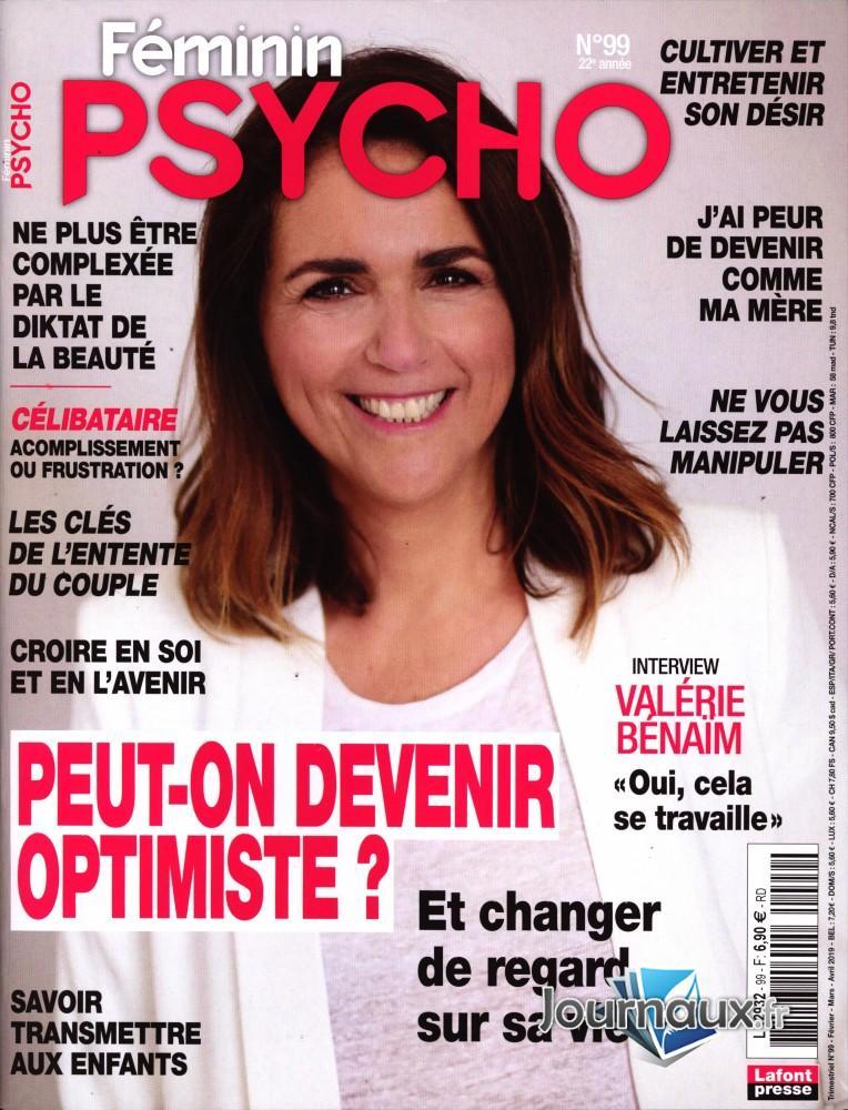 Féminin Psycho N° 99 Janvier 2020