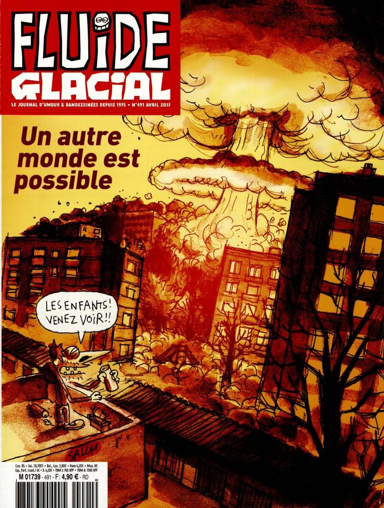 Fluide glacial N° 518 Juillet 2019