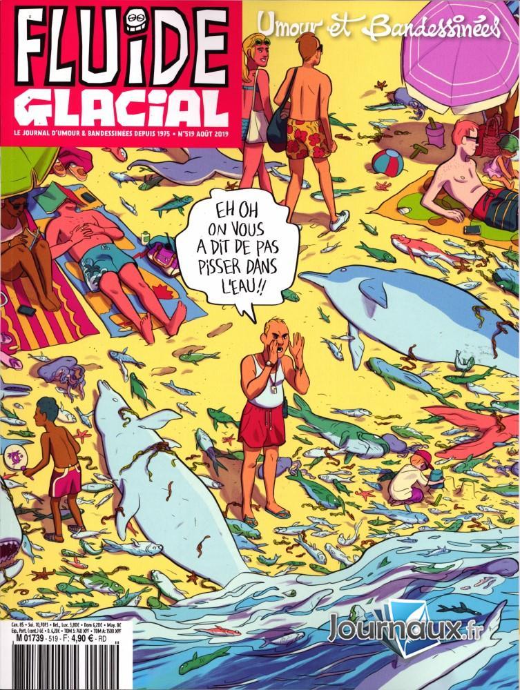 Fluide glacial N° 523 Décembre 2019