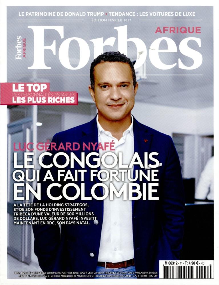 Forbes Afrique N° 41 Janvier 2017