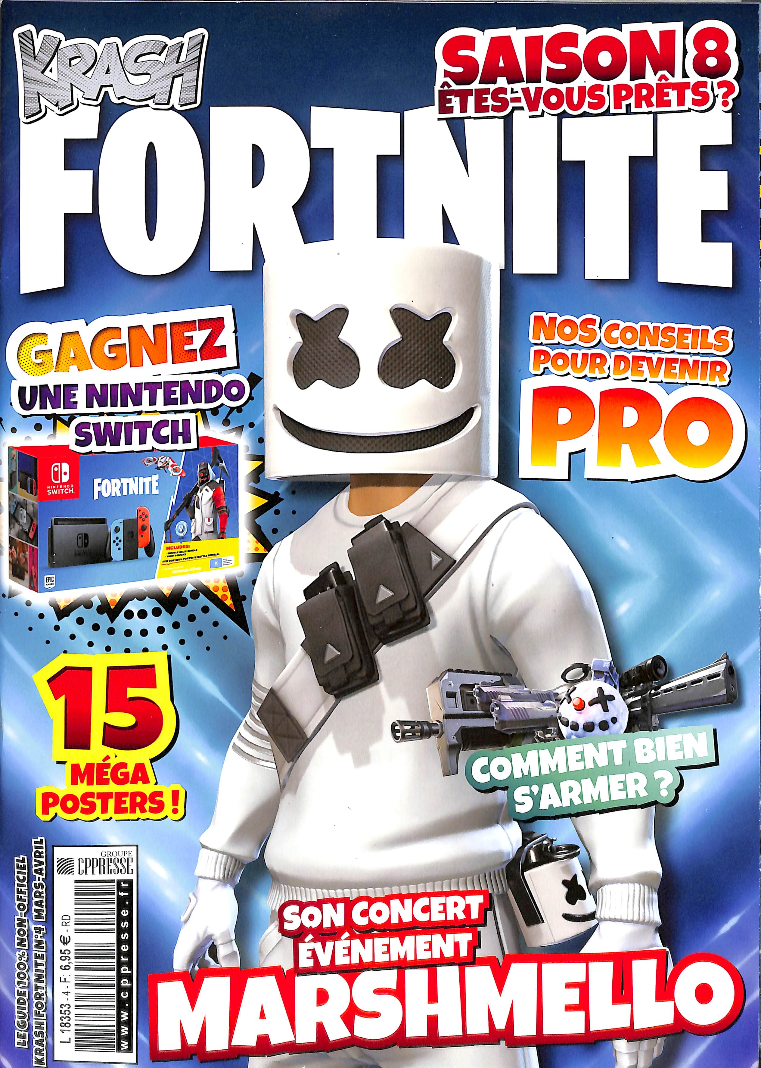 Fortnite N° 5 Avril 2019