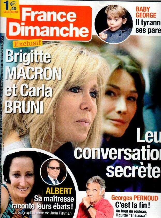 France dimanche N° 3687 Avril 2017