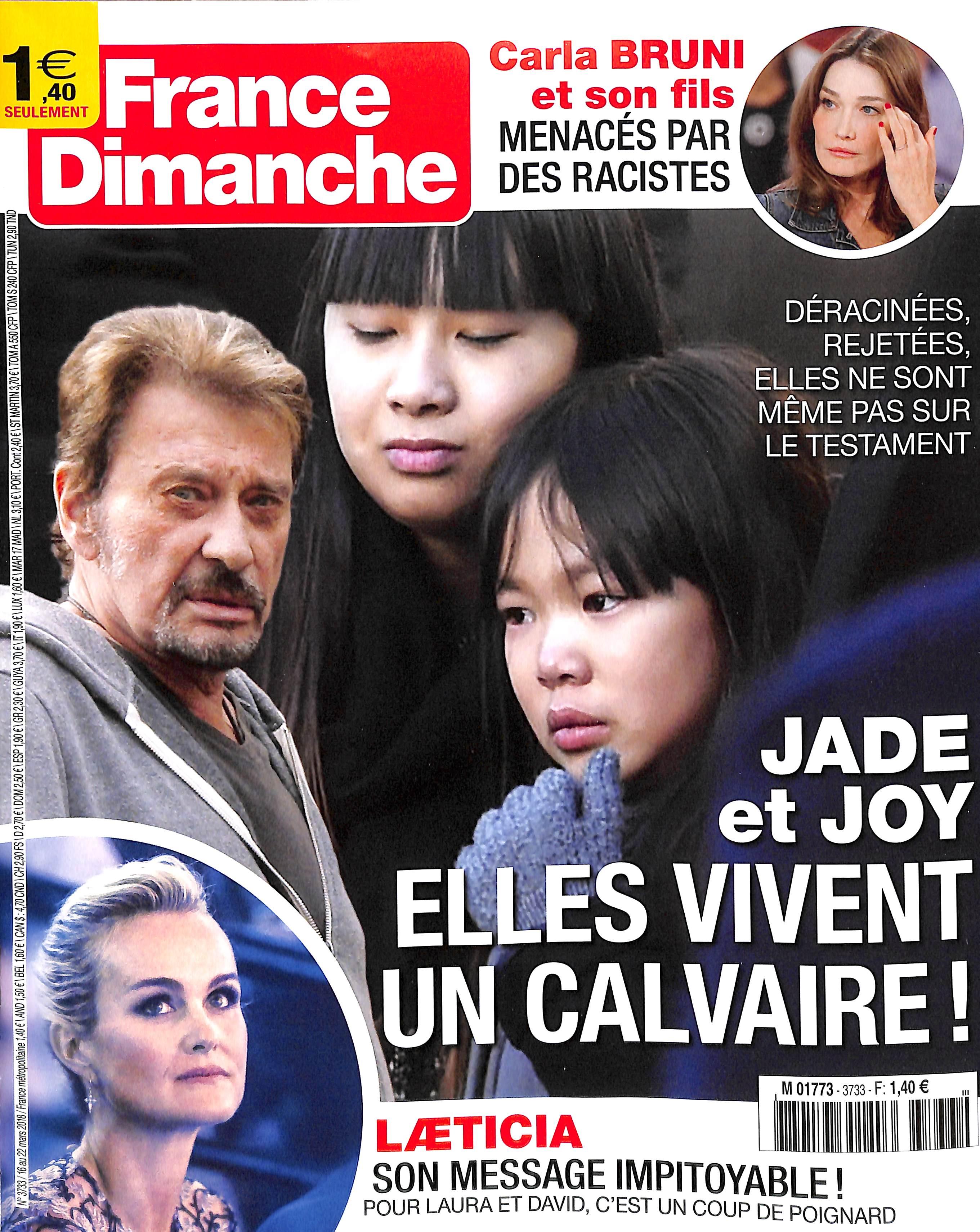 France dimanche N° 3733 March 2018