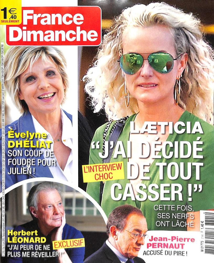 France dimanche N° 3802 Juillet 2019