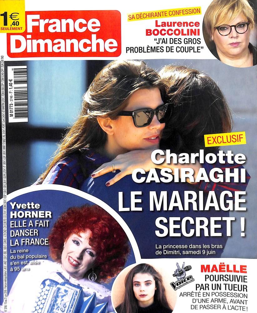 France dimanche N° 3746 June 2018