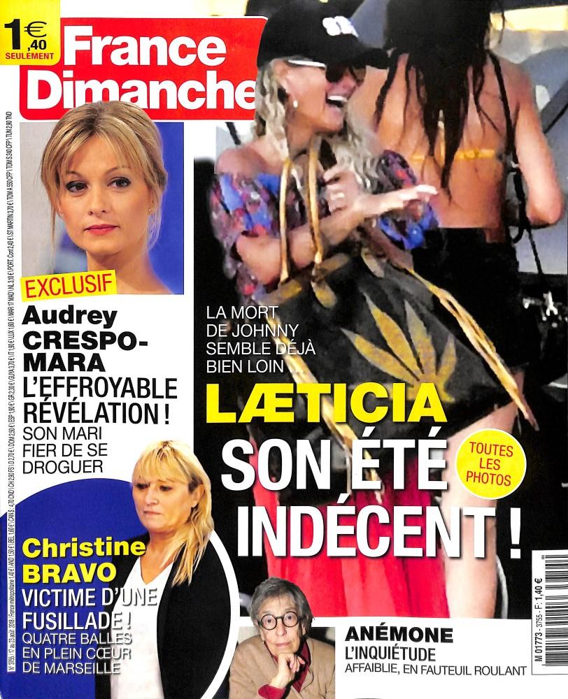 France dimanche N° 3755 August 2018