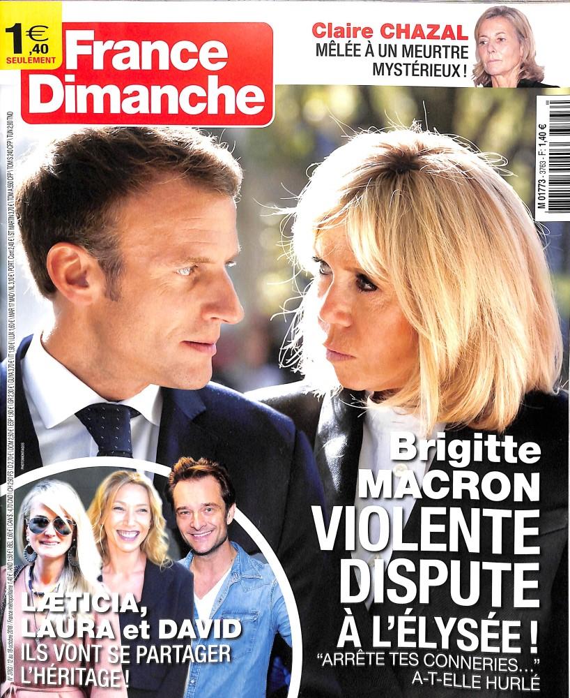 France dimanche N° 3763 October 2018