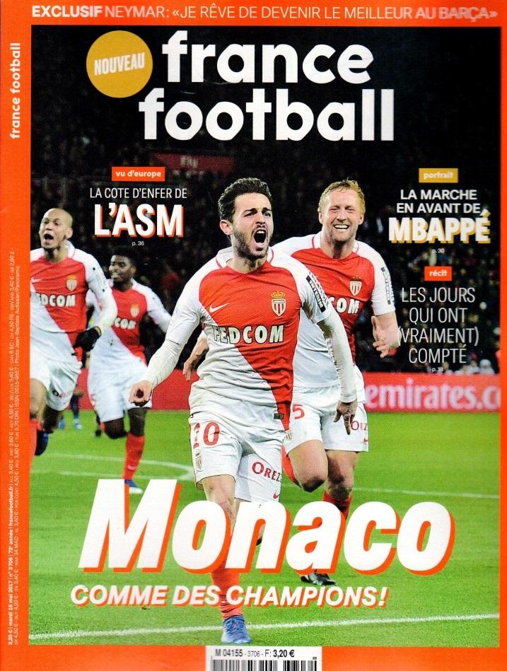 France Football N° 3706 Mai 2017