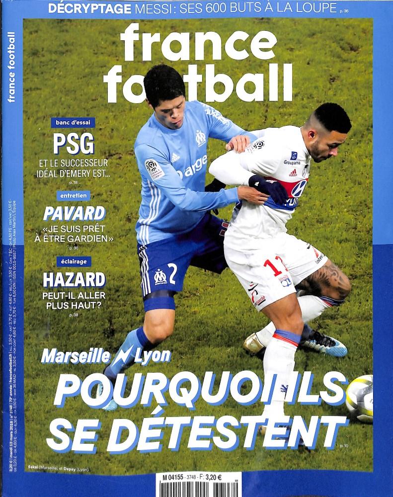 France Football N° 3748 March 2018